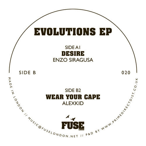 Enzo Siragusa / Alexkid - Evolutions - Unearthed Sounds