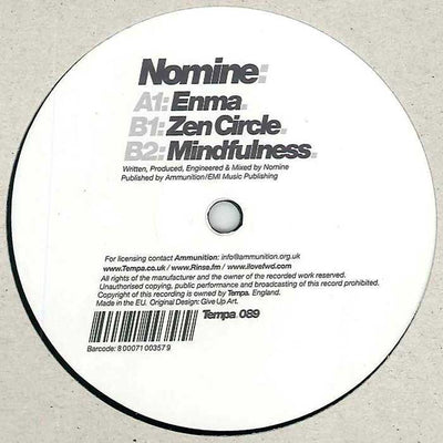 Nomine - Enma / Zen Circles / Mindfulness - Unearthed Sounds