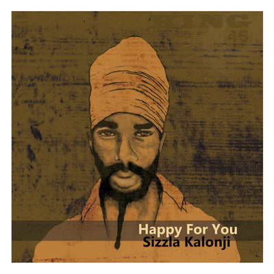 "Sizzla / Foundation Sound - Happy For You / Dubwise For You [7"" Vinyl] - Unearthed Sounds, Vinyl, Record Store, Vinyl Records"