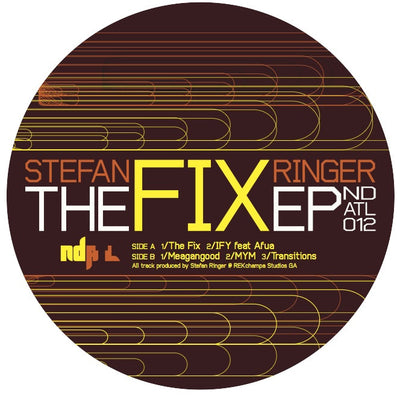 Stefan Ringer - The Fix - Unearthed Sounds
