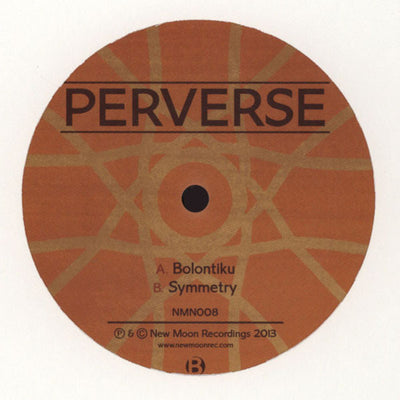 Perverse - Bolontiku / Symmetry - Unearthed Sounds