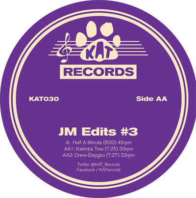 Various Artists - JM Edits #3 - Unearthed Sounds, Vinyl, Record Store, Vinyl Records