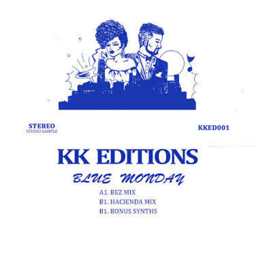 Unknown Artist - Blue Monday , Vinyl - KK Editions, Unearthed Sounds