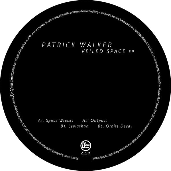 Patrick Walker - Veiled Space EP - Unearthed Sounds
