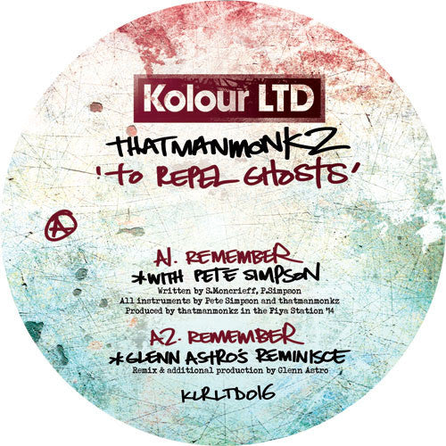 thatmanmonkz - To Repel Ghosts , Vinyl - Kolour LTD, Unearthed Sounds