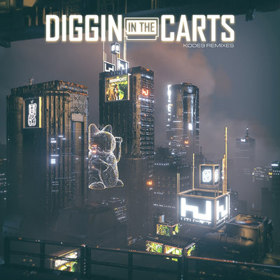 Kode9 - Diggin in the Carts Remixes - Unearthed Sounds, Vinyl, Record Store, Vinyl Records