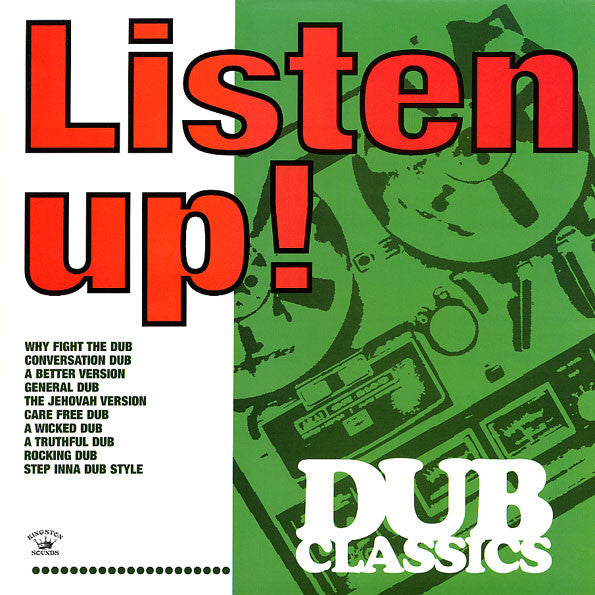 "Various Artists - Listen Up! Dub Classics [12"" LP] , Vinyl - Kingston Sounds, Unearthed Sounds"