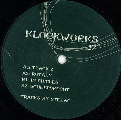 Sterac ‎- Klockworks 12 - Unearthed Sounds, Vinyl, Record Store, Vinyl Records