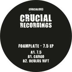 Foamplate - 7.5 EP - Unearthed Sounds