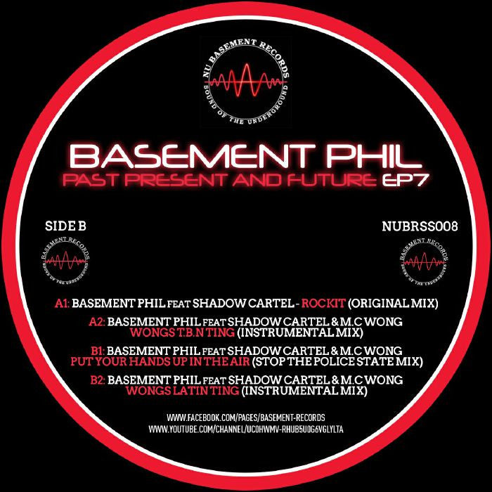 Basement Phil - Past, Present & Future EP 7 - Unearthed Sounds