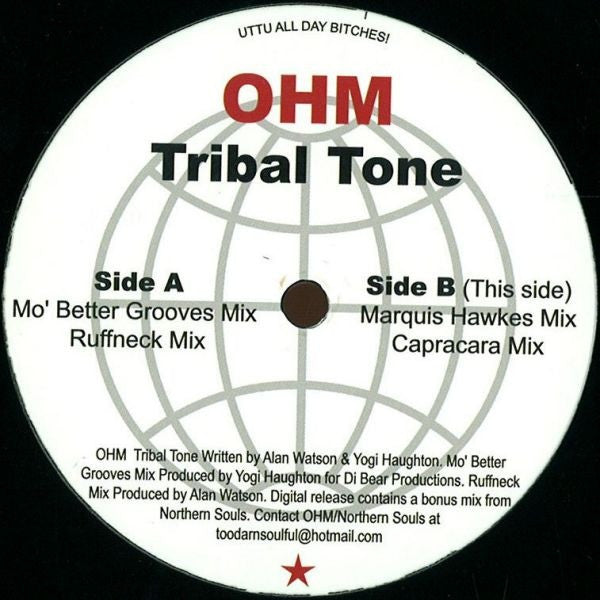 OHM - Tribal Tone - Unearthed Sounds