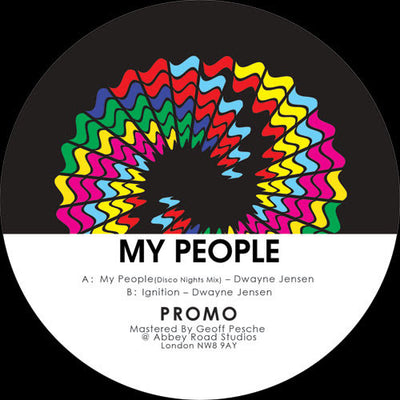 Dwayne Jensen - My People - Unearthed Sounds