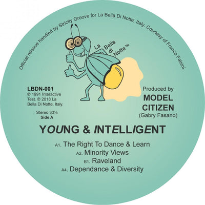 Model Citizen - Young & Intelligent [full colour sleeve] - Unearthed Sounds