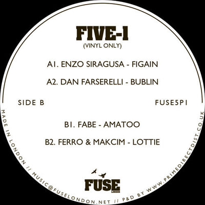 Various Artists - FIVE -1 - Unearthed Sounds
