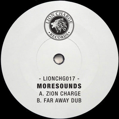 Moresounds - Zion Charge // Far Away Dub , Vinyl - Lion Charge Records, Unearthed Sounds