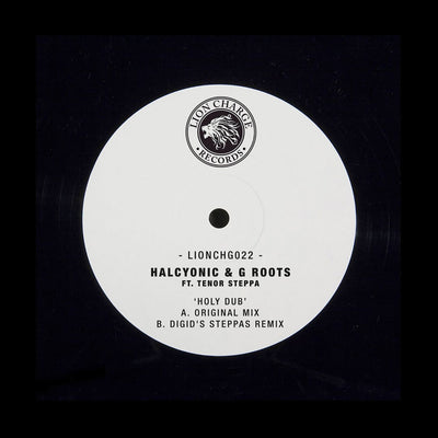 Halcyonic & G Roots ft. Tenor Steppa - Holy Dub - Unearthed Sounds, Vinyl, Record Store, Vinyl Records