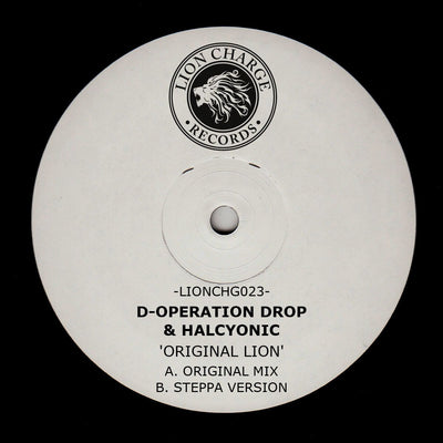 D-Operation Drop & Halcyonic - Original Lion - Unearthed Sounds