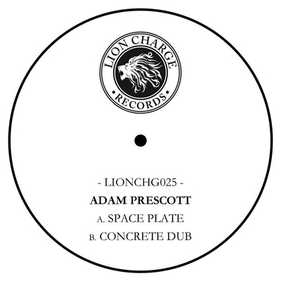 Adam Prescott - Space Plate / Concrete Dub - Unearthed Sounds, Vinyl, Record Store, Vinyl Records