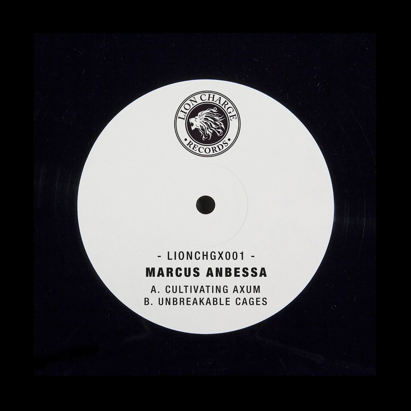"Marcus Anbessa - Cultivating Axum / Unbreakable Cages [Hand-stamped 10""]"