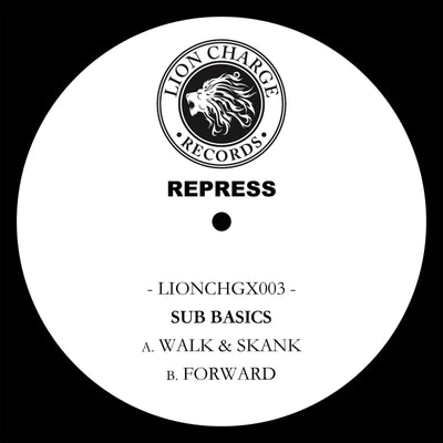 "Sub Basics - Walk & Skank / Forward [10"" Vinyl Repress] - Unearthed Sounds"