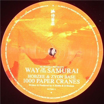 Hobzee & Zyon Base / Trei & Dose - 1000 Paper Cranes / Empty Handed - Unearthed Sounds
