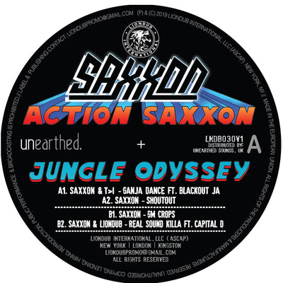 Saxxon - Action Saxxon - Jungle Odyssey EP 1 - Unearthed Sounds