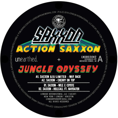 Saxxon - Action Saxxon - Jungle Odyssey EP 2 - Unearthed Sounds