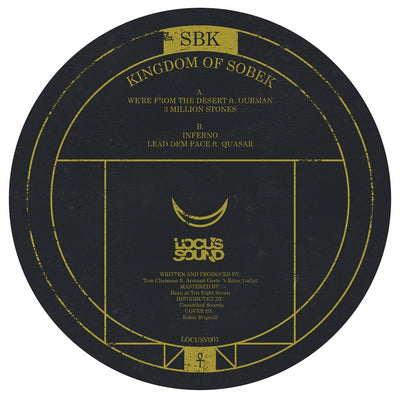 SBK (ft. Ourman & Quasar) - The Kingdom of Sobek - Unearthed Sounds