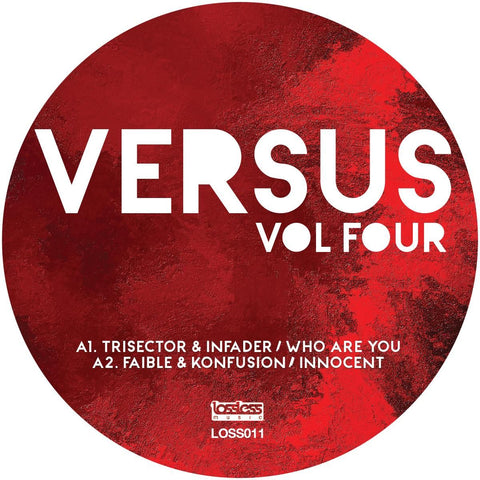 Various Artists - Versus Vol. Four [Pink & Black Marble Vinyl]
