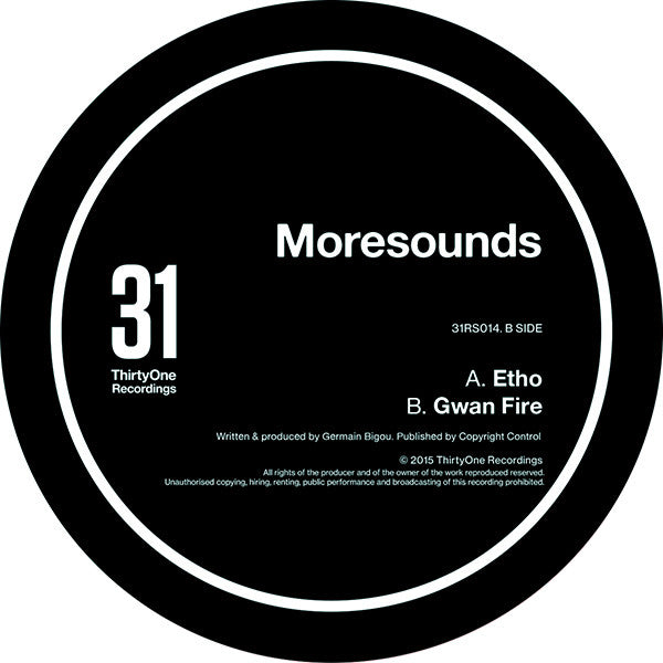 Moresounds - Etho / Gwan Fire - Unearthed Sounds