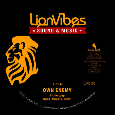 Richie Loop ‎– Own Enemy / Peaceful Dub - Unearthed Sounds