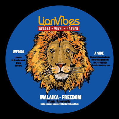 "Malaika - Freedom / Dub 7"" - Unearthed Sounds"