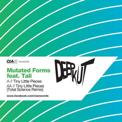 Mutated Forms - Tiny Little Pieces / (Total Science Remix) - Unearthed Sounds