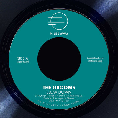"The Grooms - Slow Down / I Deserve A Little Bit More [7"" Vinyl] - Unearthed Sounds"