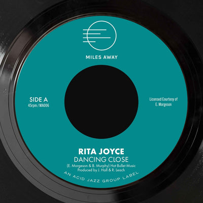 "Rita Joyce - Dancing Close / Back Home Again [7"" Vinyl] - Unearthed Sounds"