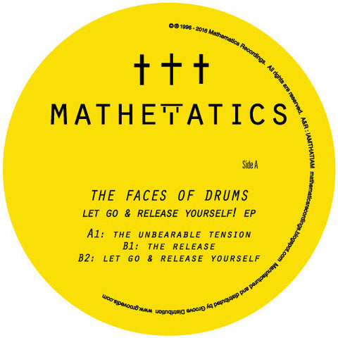 The Faces of Drums - Let Go & Release Yourself EP