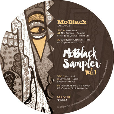 Various Artists - MoBlack Sampler Vol. 1 , Vinyl - MoBlack Records, Unearthed Sounds