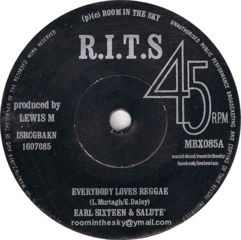 Earl Sixteen & Salute' / Vin Gordon ‎– Everybody Loves Reggae / Trommy Loves Reggae