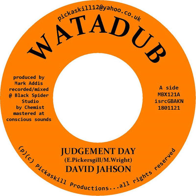"David Jahson - Judgement Day [7"" Vinyl]"