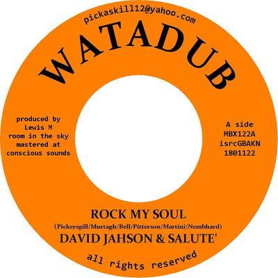 "David Jahson & Salute - Rock My Soul [7"" Vinyl]"
