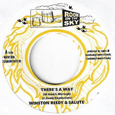 "Winston Reedy / Vin Gordon / Salute – There's a Way / Declaration of Rights [7"" Vinyl] - Unearthed Sounds"