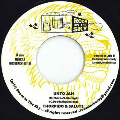 "Thorpido / Salute / Vin Gordon – Unto Jah / Declaration of Dub [7"" Vinyl]"