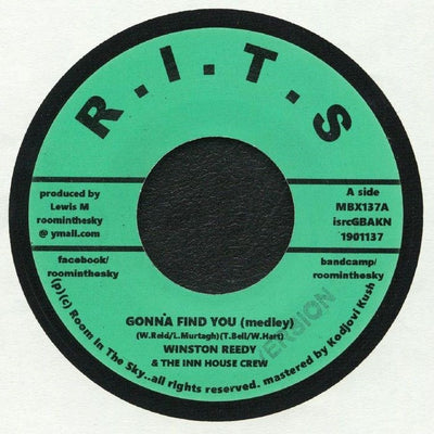 Winston Reedy / The Inn House Crew - Gonna Find You - Unearthed Sounds