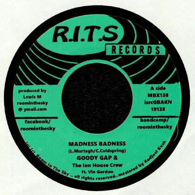 Goody Gap & The Inn House Crew - Madness Badness - Unearthed Sounds