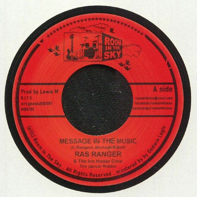 Ras Ranger - Message In The Music - Unearthed Sounds