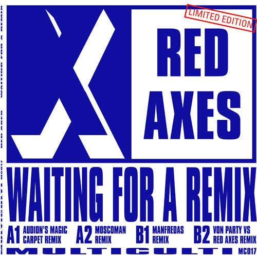 Red Axes - Waiting For A Remix , Vinyl - Multi Culti, Unearthed Sounds