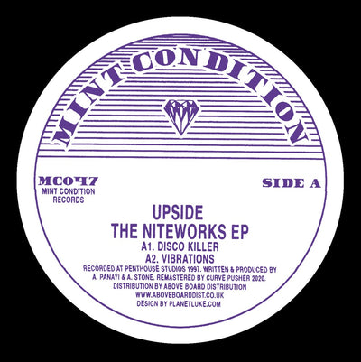 Upside - The Niteworks EP - Unearthed Sounds