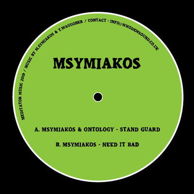 Msymiakos & Ontology - Stand Guard - Unearthed Sounds