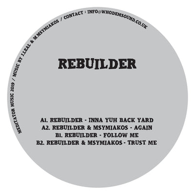 Rebuilder - Inna Yuh Back Yard - Unearthed Sounds