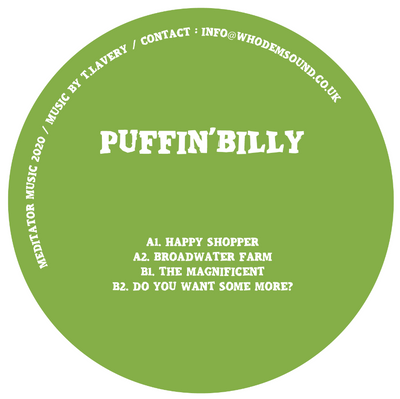 Puffin' Billy - MEDITATOR014 - Unearthed Sounds